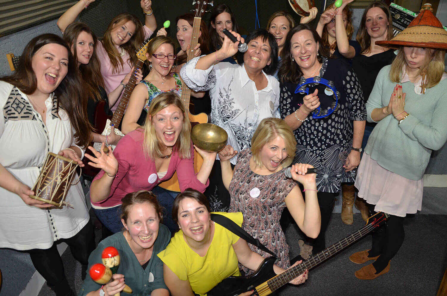 hen party ideas for singing parties