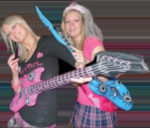 two singing superstars at hen party ideas edinburgh