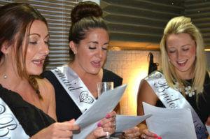 bridesmaids singing