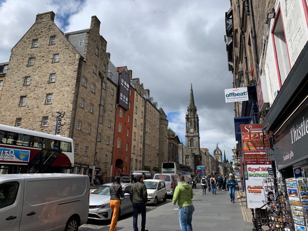 Location Of Royal Mile Recording Experiences