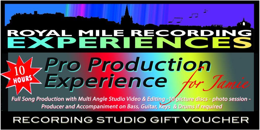 Pro Production Gift Voucher